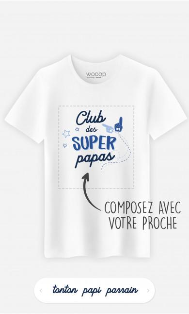 T-Shirt Homme Club Des Supers à personnaliser