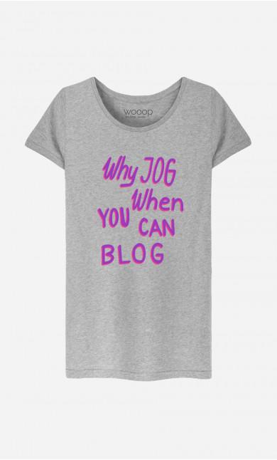 T-Shirt Femme Why Jog