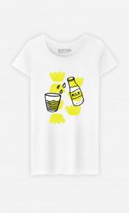 T-Shirt Femme Milk