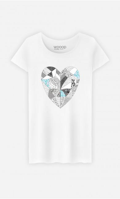 T-Shirt Femme Chemical Reaction