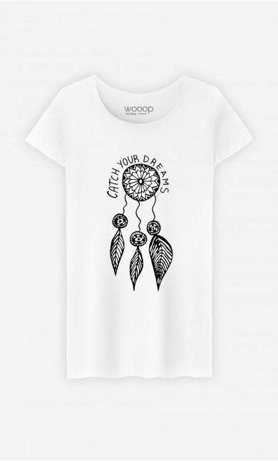 T-Shirt Femme Catch Your Dreams