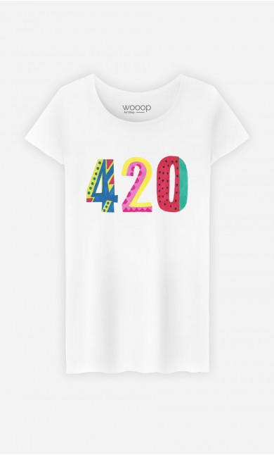 T-Shirt Femme 420