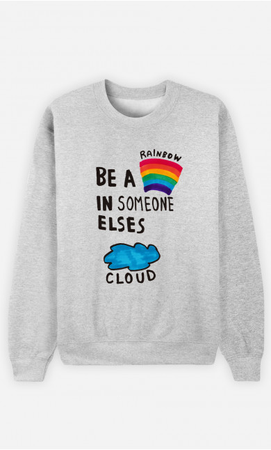 Sweat Homme Be A Rainbow