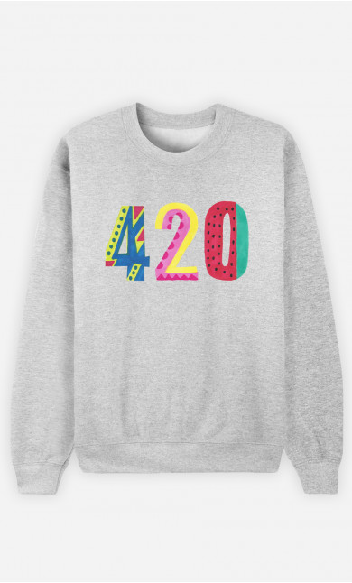 Sweat Homme 420