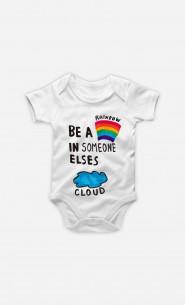 Body Bébé Be A Rainbow
