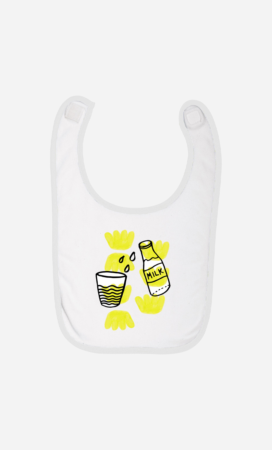Bavoir Bébé Milk