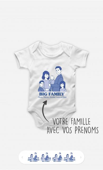 Body Bébé Big Family à personnaliser