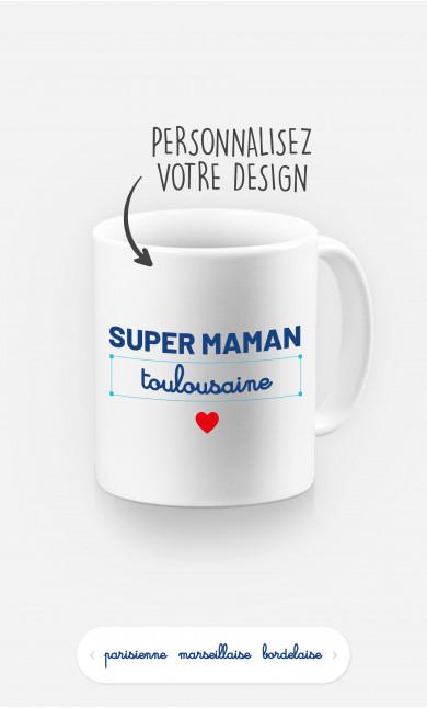 Mug Super Maman Région à personnaliser