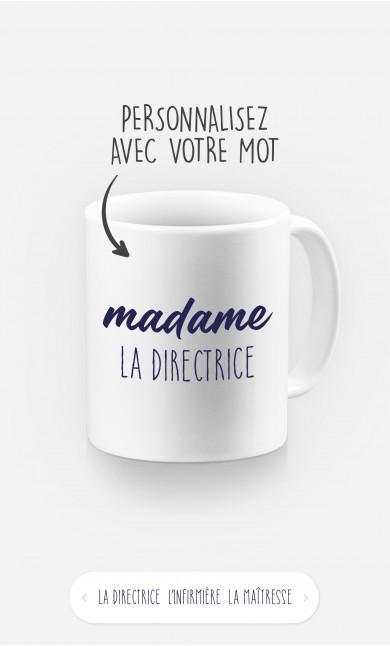 Mug Madame à personnaliser