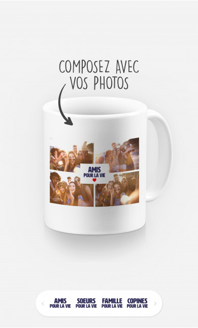Mug Meilleures Amies 2 à personnaliser