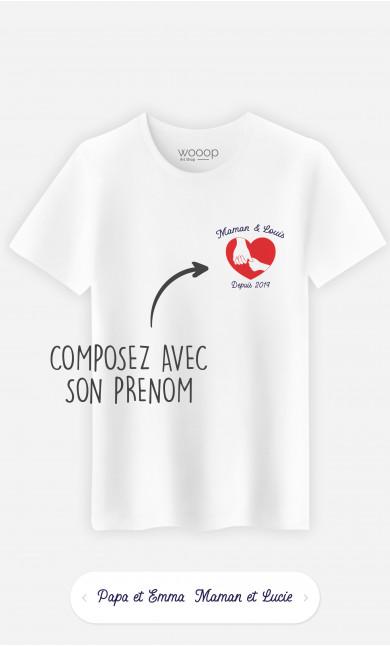 T-Shirt Homme Famille à personnaliser