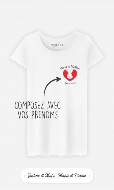 T-Shirt Femme Amitié à personnaliser
