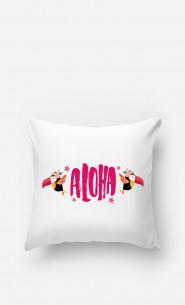 Coussin Aloha Pink