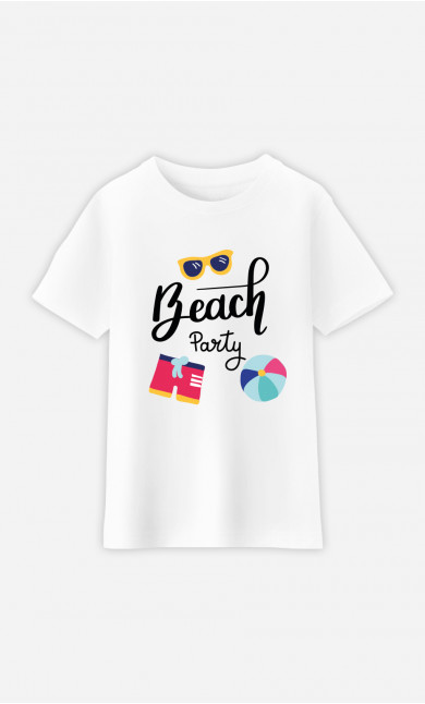 T-Shirt Enfant Beach Party