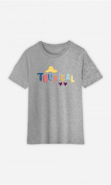 T-Shirt Enfant Tropical