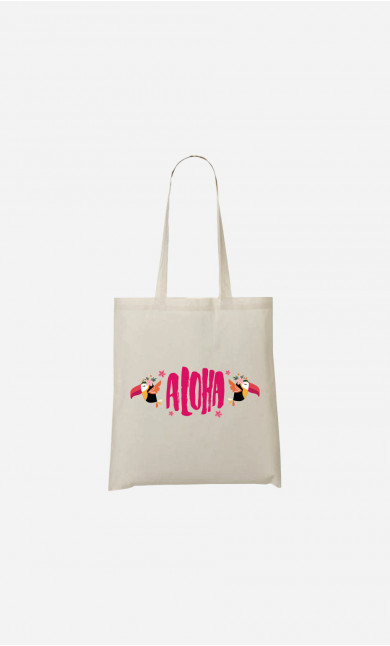 Tote Bag Aloha Pink