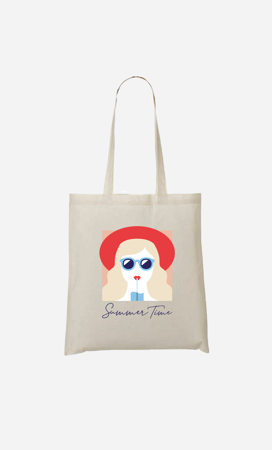 Tote Bag Summer Time Blonde