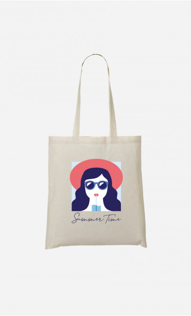 Tote Bag Summer Time Brunette