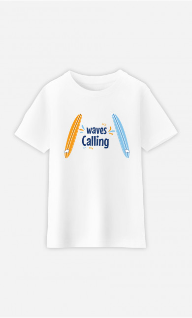 T-Shirt Enfant Love Surfing