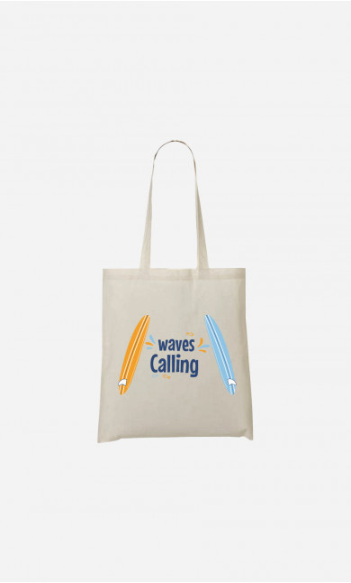 Tote Bag Love Surfing