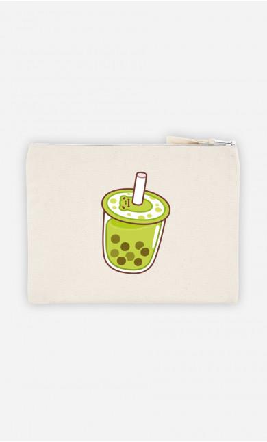 Pochette Bubble Tea Vert