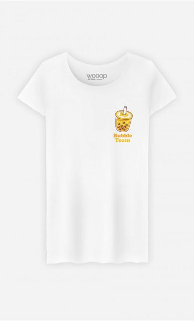 T-Shirt Femme Bubble Team - Brodé