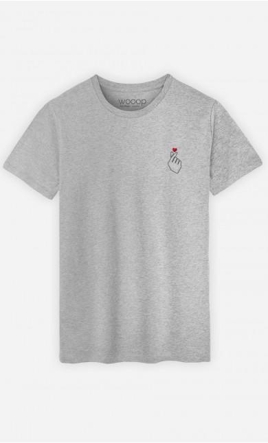 T-Shirt Homme K-Love - Brodé