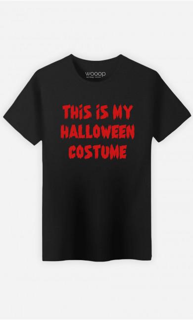T-shirt Homme My Halloween Costume