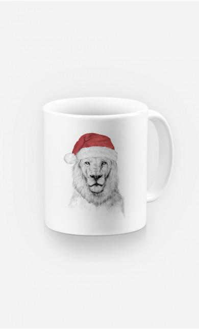 Mug Santa Lion