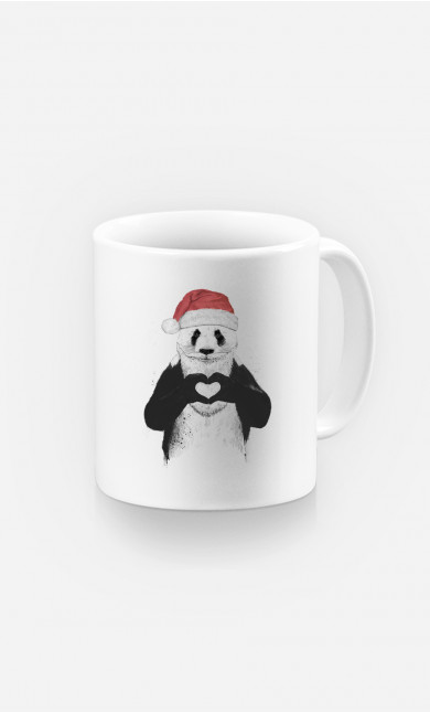 Mug Santa Panda