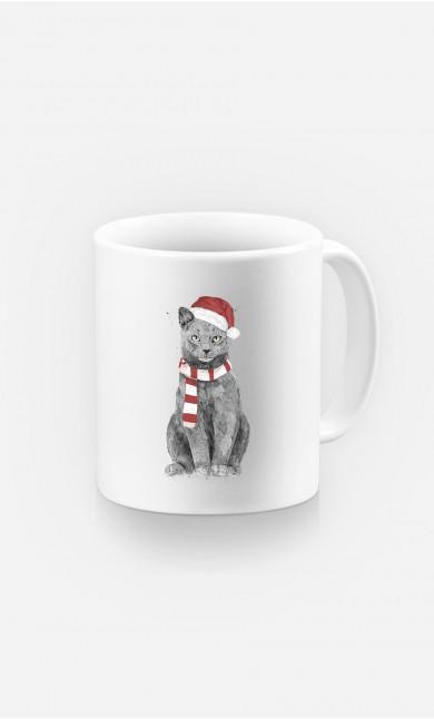 Mug Xmas Cat