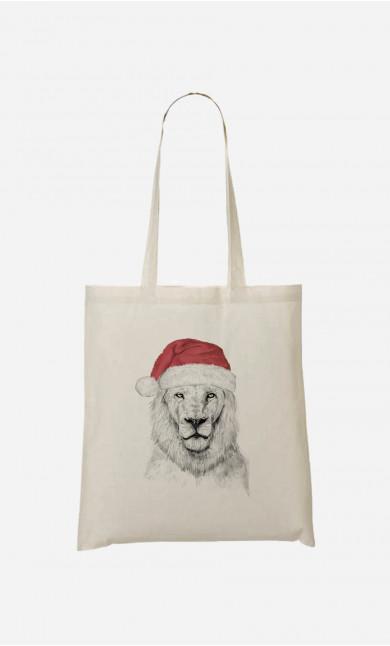 Tote Bag Santa Lion