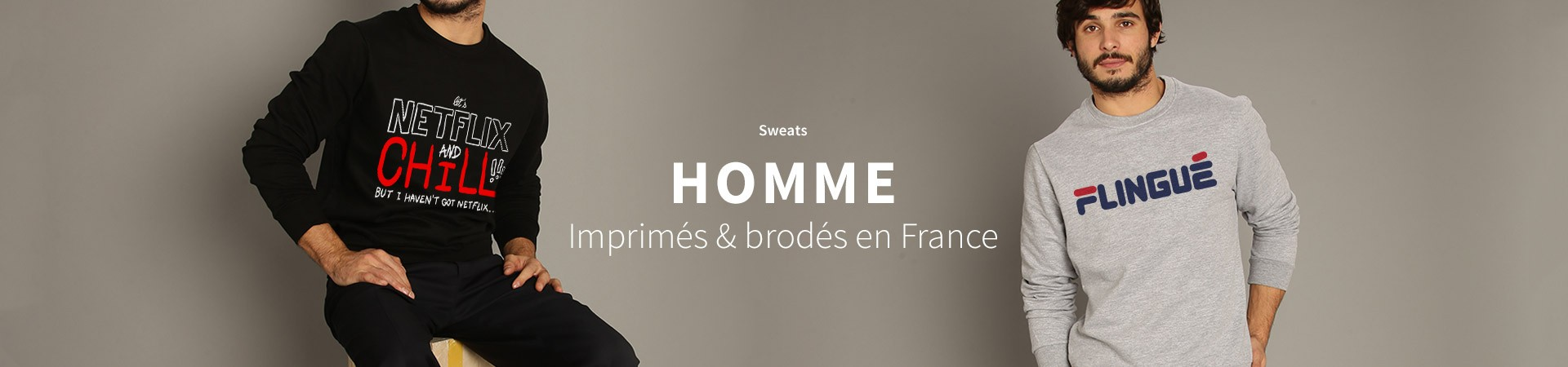 Homme : Sweat-Shirts