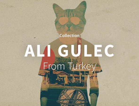 Un design original et unique, Ali Gulec nous dévoile son univers dans sa collection sur Wooop.fr