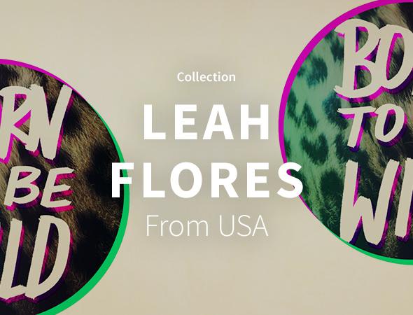 Inspirée de la nature, les créations de Leah Flores sont disponibles sur son artshop sur Wooop