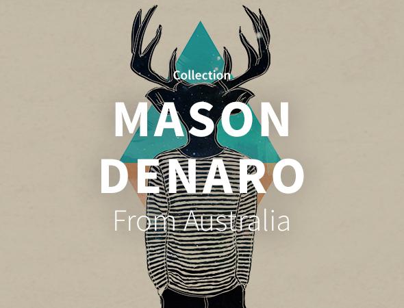 Encore un artiste qui s'attaque à des wild animals et autres, c'est Mason Denaro