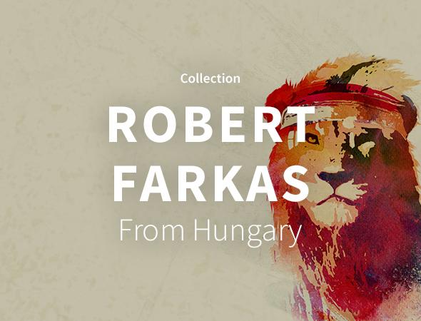 Wild animal, marty mcfly, lion, voici tout ce que vous pourrez trouver dans la gamme variée que propose Robert Farkas.