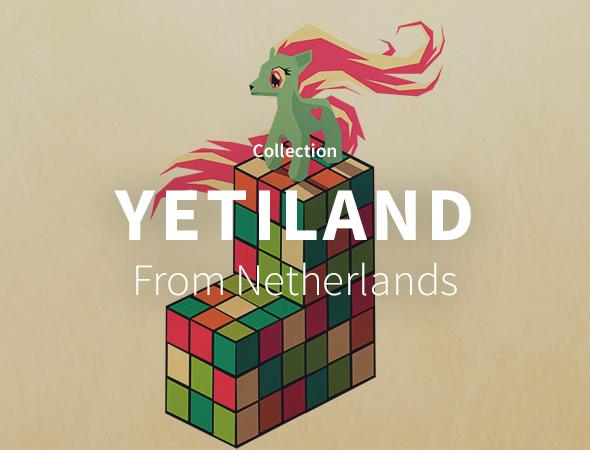 La collection animaux et fantaisie du nouvel artiste de Wooop Yetiland !