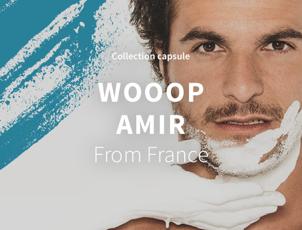 Collection Capsule Wooop x Amir