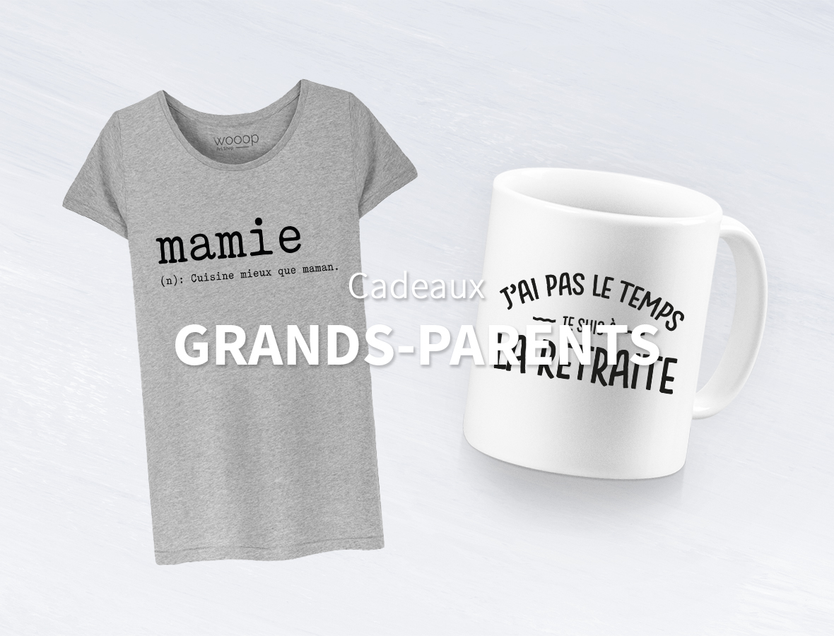 Idées cadeaux Grands-Parents