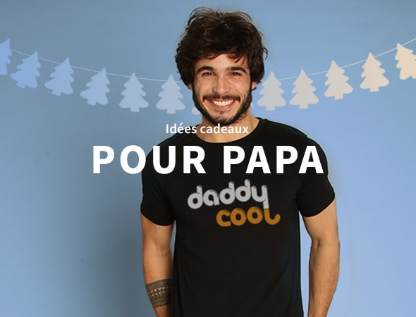 Idées cadeaux papa