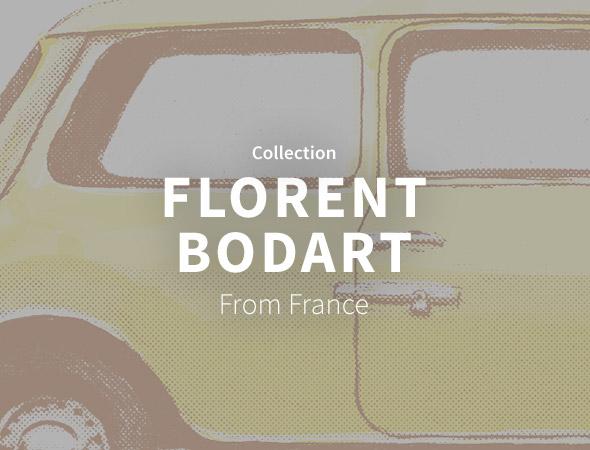 Un design très fruité et original pour donner la pêche chez Florent Bodart