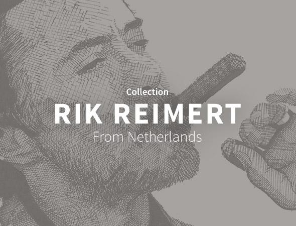 Les célébrités comme Hugh Jackman, Robert Downey Jr sont présents dans la collection Rik Reimert sur Wooop.fr