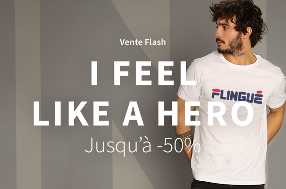 Flash sale I feel like a hero