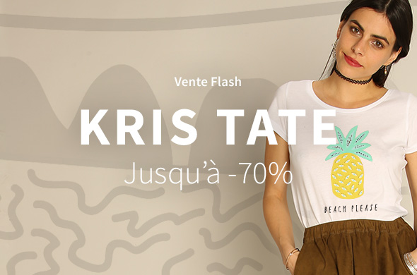 Flash sale Kris Tate