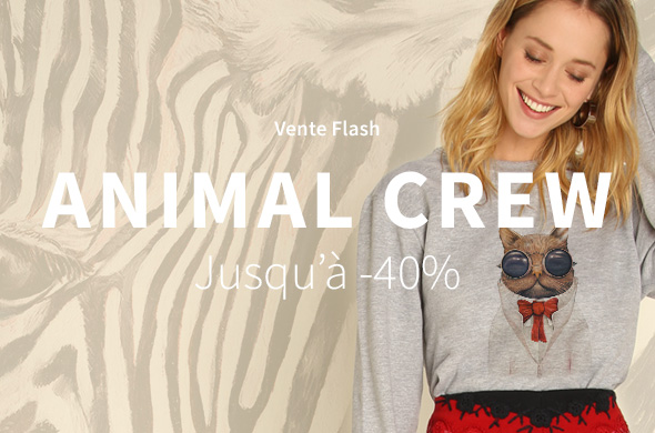 Flash sale Animal Crew