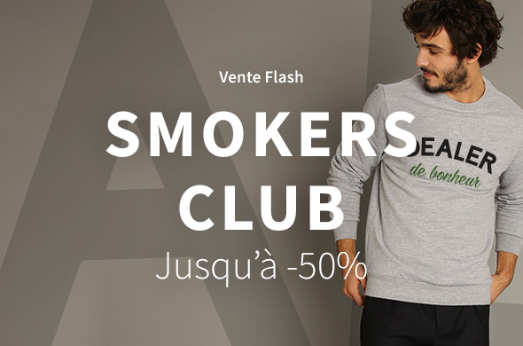 Flash sale Smokers Club